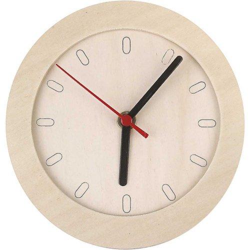 Dřevěné hodiny DIY k vlastnímu dotvoření průměr 15 cm
