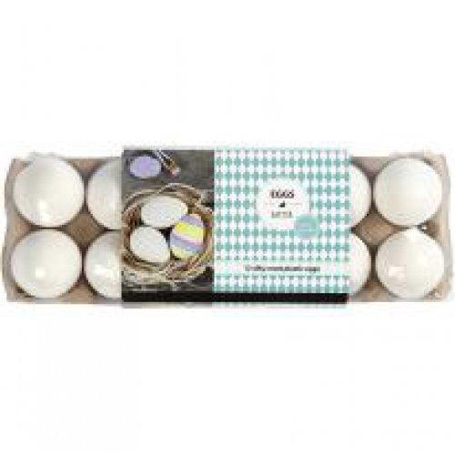 Plastové vajíčko bílé - 12 kusů v balení - CC51024_b.jpg
