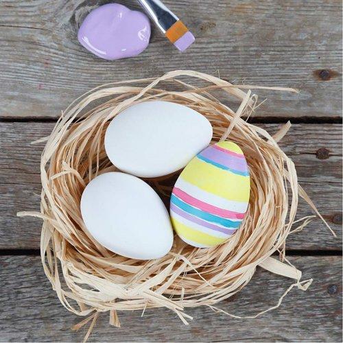 Plastové vajíčko bílé - 12 kusů v balení - 51024_8.jpg