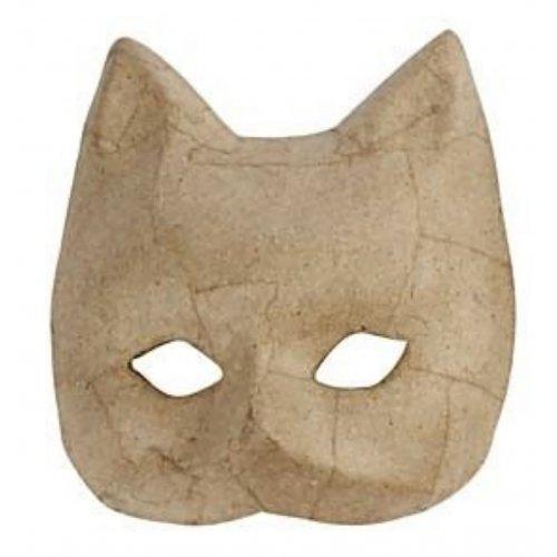 Papírová maska k dotvoření - varianta A
