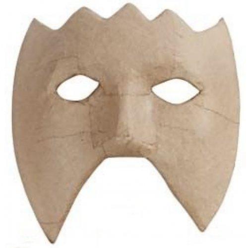 Papírová maska k dotvoření - varianta B