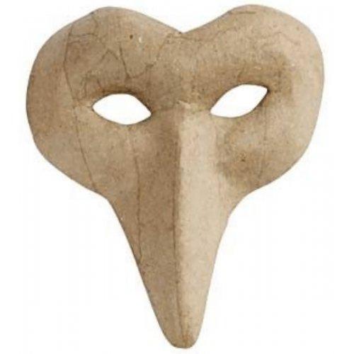 Papírová maska k dotvoření - varianta C