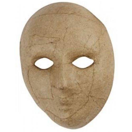 Papírová maska k dotvoření - varianta D