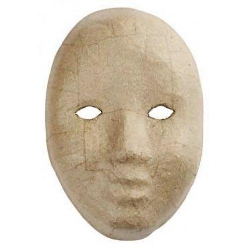 Papírová maska k dotvoření - varianta F