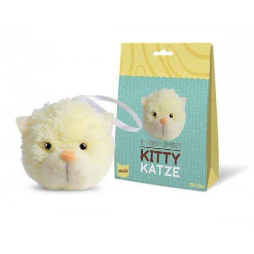 Kreativní sada ZOO POMPON - Koťátko KITTY