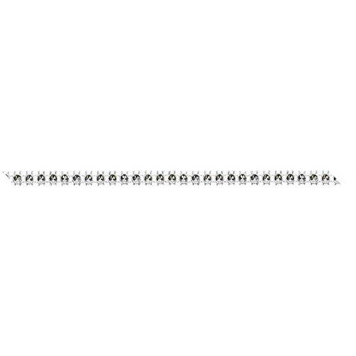 Dekorační pásek s drahokamy šířka 4 mm STŘÍBRNÁ VELKÝ KAMÍNEK