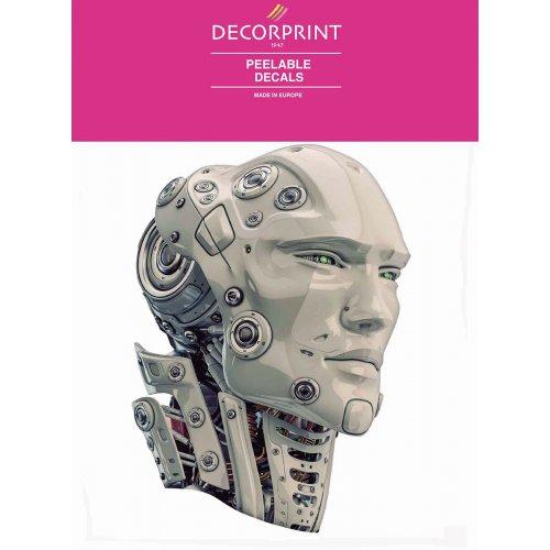 Obtisk na porcelán a sklo - ROBOTOK- 20x20 cm