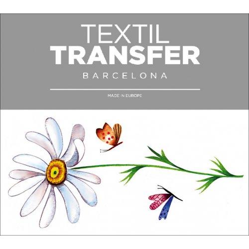 Obtisk na textil - KOPRETINA - 10x5 cm