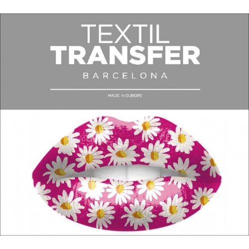 Obtisk na textil - DAISY - 10x5 cm