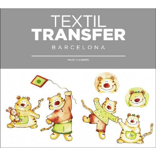 Obtisk na textil - VĚČNÉ PŘÁTELSTVÍ - 10x5 cm