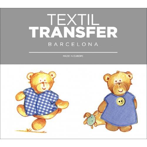 Obtisk na textil - KAMARÁDI - 10x5 cm