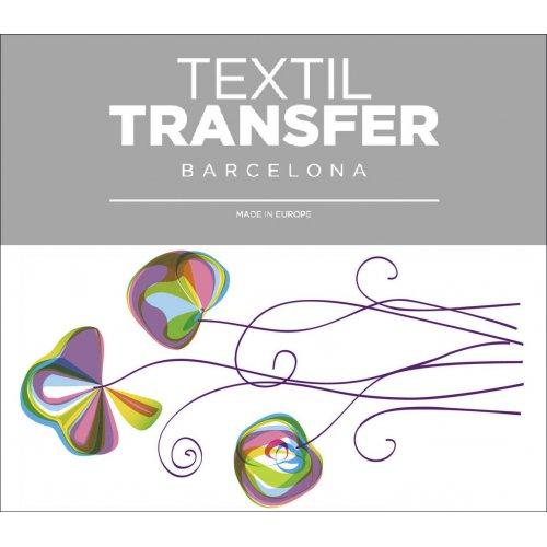 Obtisk na textil - FLOWER 70´S - 10x5 cm