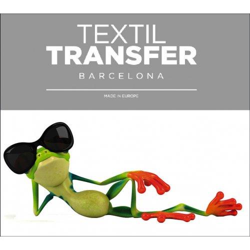 Obtisk na textil - LÍNÝ ŽABÁK - 10x5 cm