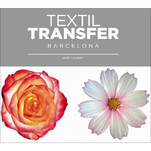 Obtisk na textil - KRÁSNÉ KYTKY 1 - 10x5 cm
