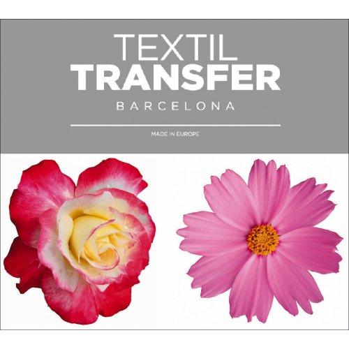 Obtisk na textil - KRÁSNÉ KYTKY 2 - 10x5 cm