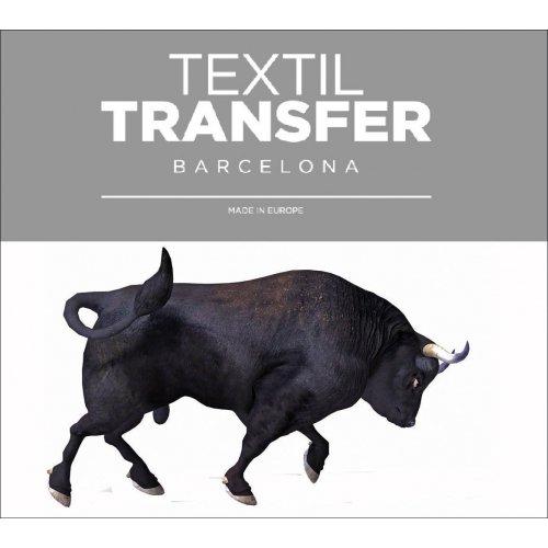 Obtisk na textil - TORO BRAVO - 10x5 cm