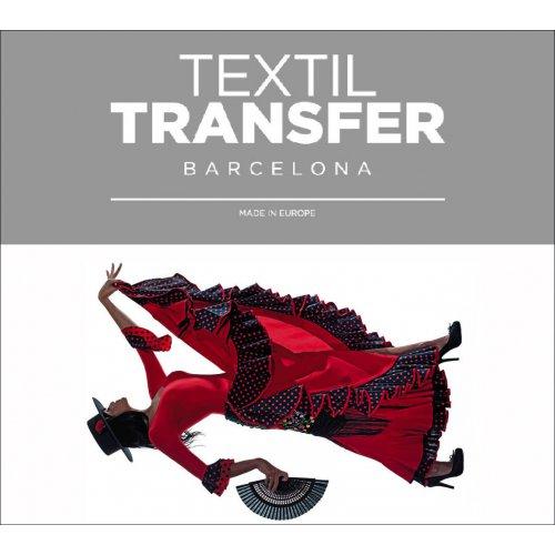 Obtisk na textil - SEVILLANA - 10x5 cm