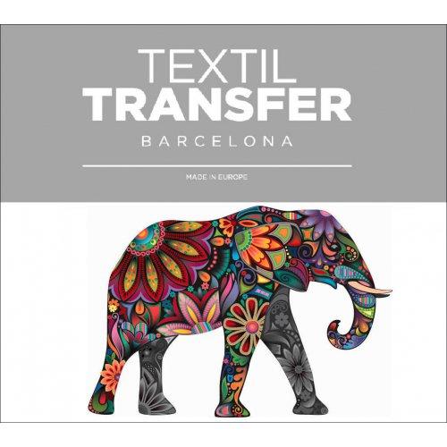 Obtisk na textil - SLON - 10x5 cm