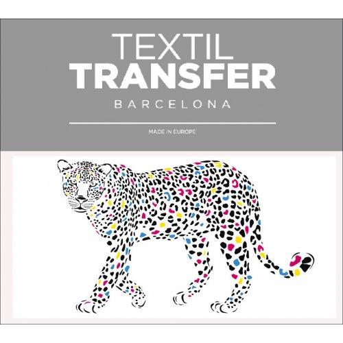 Obtisk na textil - GEPARD - 10x5 cm