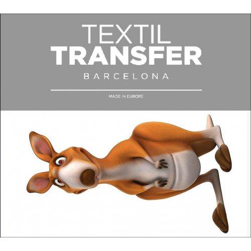 Obtisk na textil - KLOKAN - 10x5 cm
