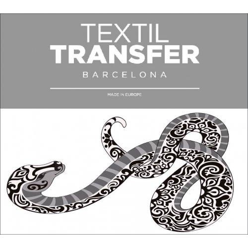 Obtisk na textil - KOBRA - 10x5 cm
