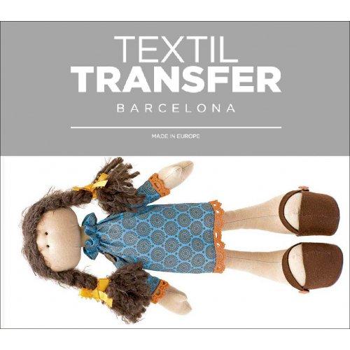 Obtisk na textil - DOLLY - 10x5 cm