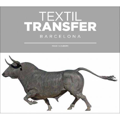 Obtisk na textil - TORO BRAVO 2 - 10x5 cm