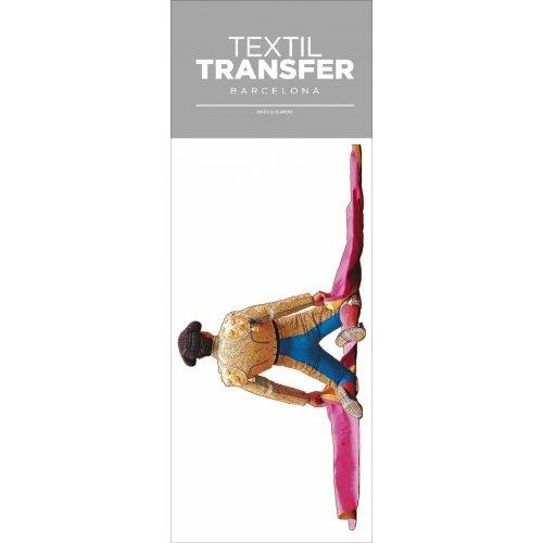 Obtisk na textil - TOREADOR - 10x20 cm
