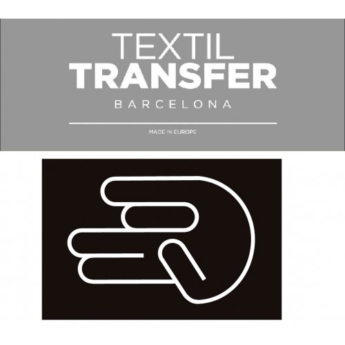 Obtisk na textil - RUKA - 10x5 cm