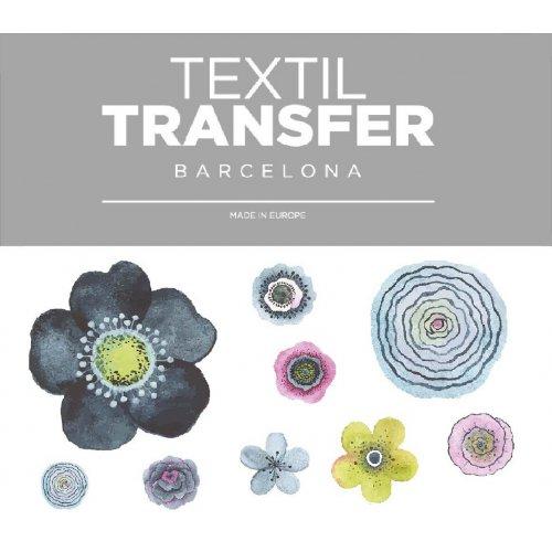 Obtisk na textil - VINTAGE - 10x5 cm