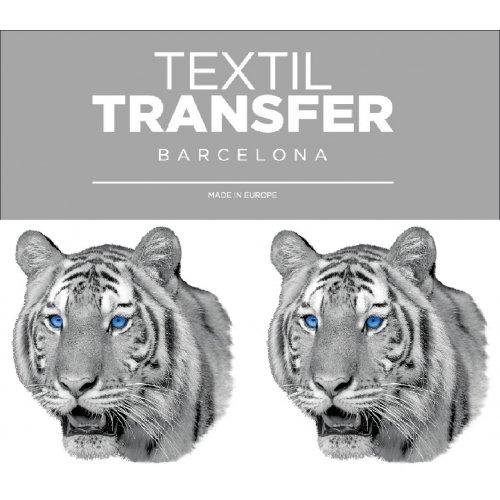 Obtisk na textil - TYGR - 10x5 cm