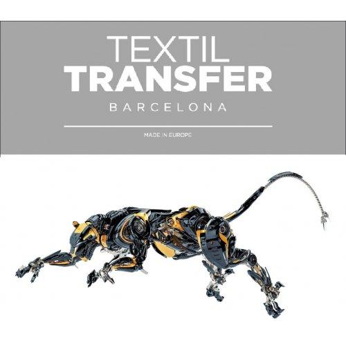Obtisk na textil -  SMRTÍCÍ MAŠINA - 10x5 cm