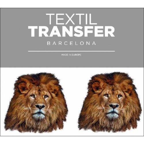 Obtisk na textil - LEV - 10x5 cm