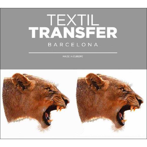 Obtisk na textil - PREDATOR - 10x5 cm