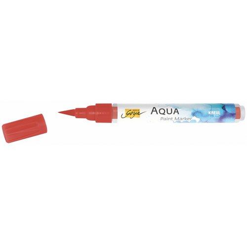 Aqua marker SOLO GOYA rumělková červená - CK18113_SOLO_GOYA_Aqua_Paint_Marker_open.jpg