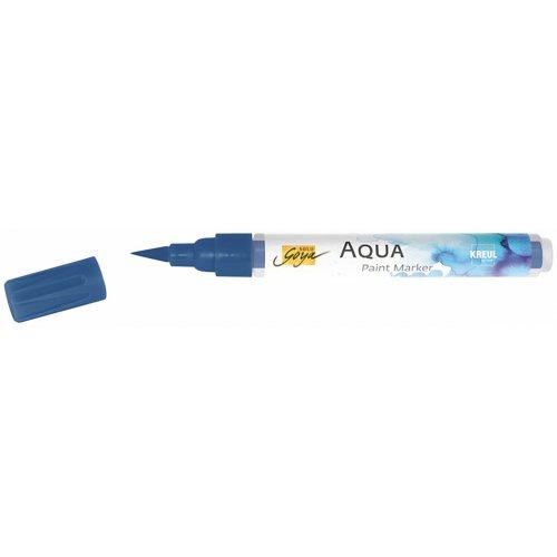 Aqua marker SOLO GOYA indigo modrá - CK18114_SOLO_GOYA_Aqua_Paint_Marker_open.jpg