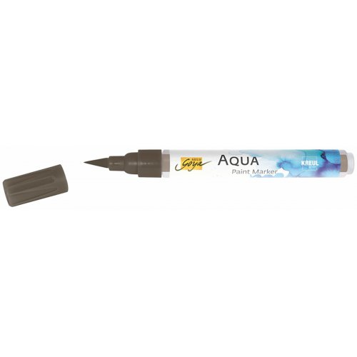 Aqua marker SOLO GOYA hnědá havana - CK18117_SOLO_GOYA_Aqua_Paint_Marker_open.jpg