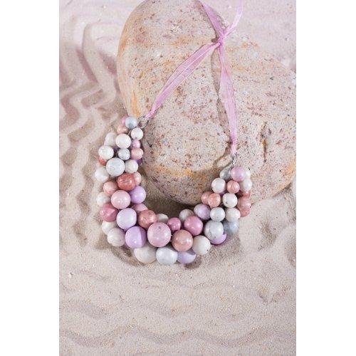 FIMO perlový náhrdelník