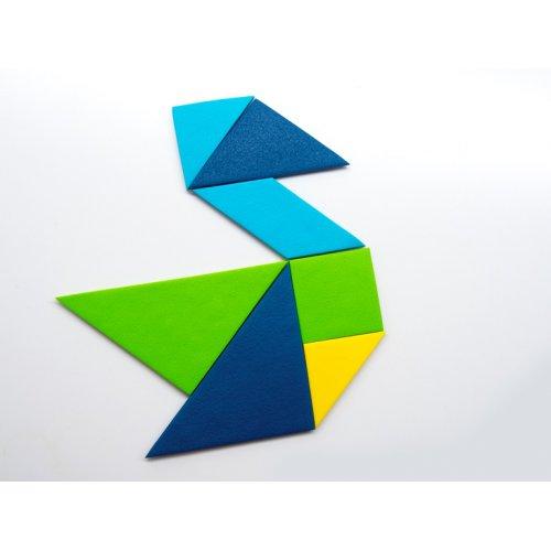 FIMO tangramy