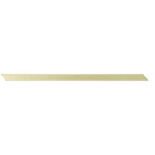 Stuha saténová oboustranná BÉŽOVÁ šířka 5 mm