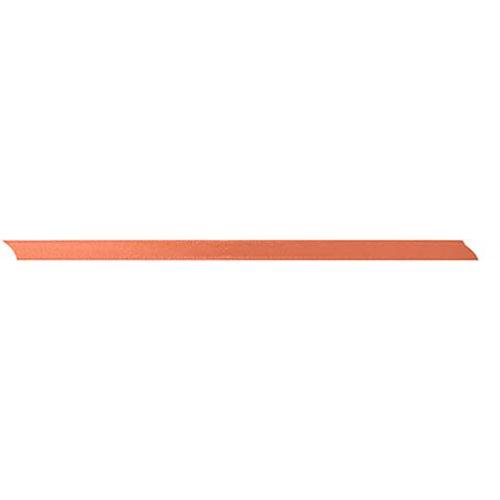 Stuha saténová oboustranná BROSKVOVÁ šířka 5 mm