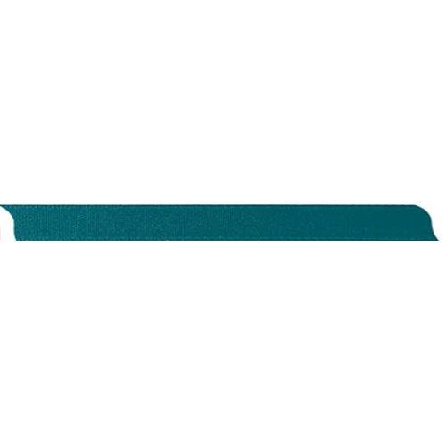 Stuha saténová oboustranná PETROL šířka 10 mm