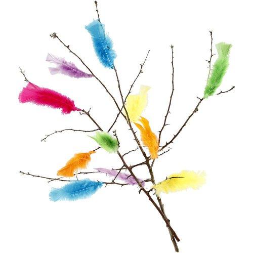 Peříčka vel. 11-17 cm různé jarní barvy 18 svazků - CC518460_e.jpg