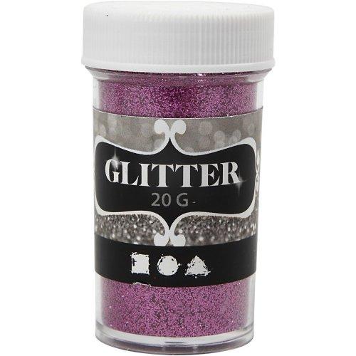 Glitter třpytky 20 g růžový