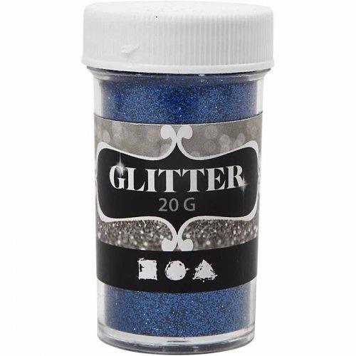 Glitter třpytky 20 g modrý