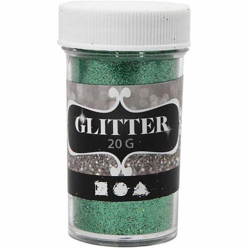 Glitter třpytky 20 g zelený