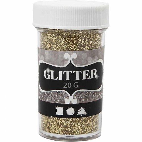 Glitter třpytky 20 g zlatý