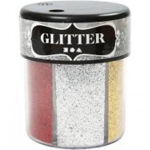 Sada Glitter třpytky 6 x 13 g tmavé barvy - CC28429_b.jpg