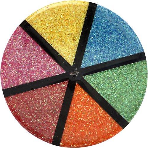 Sada Glitter třpytky 6 x 13 g světlé barvy - CC28430_10.jpg