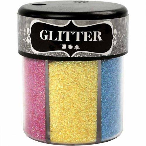 Sada Glitter třpytky 6 x 13 g světlé barvy - CC28430.jpg